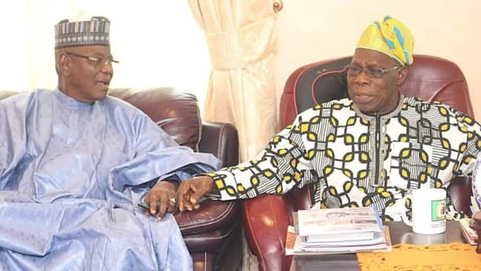 Ba tsaro a Najeriya, sai zubar da jini ake, inji Sule Lamido yayin ganawa da Obasanjo