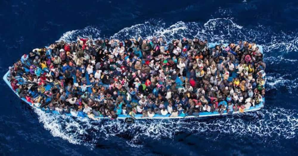 40 feared dead as boat carrying migrants capsizes off the coast of Africa