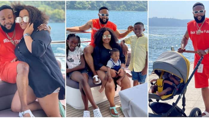 Singer Kcee shares adorable family photos as he vacations with wife and kids in Istanbul, Turkey
