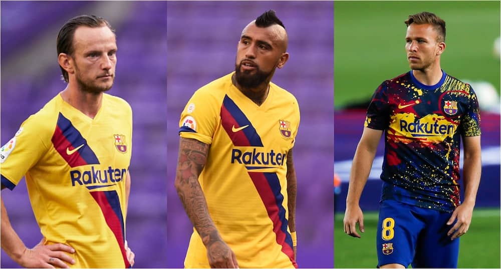 Lionel Messi: Rakitic, Vidal, Arthur gang up against Barcelona captain