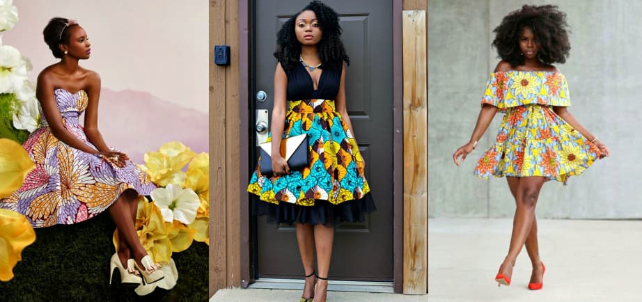Short Ankara dresses