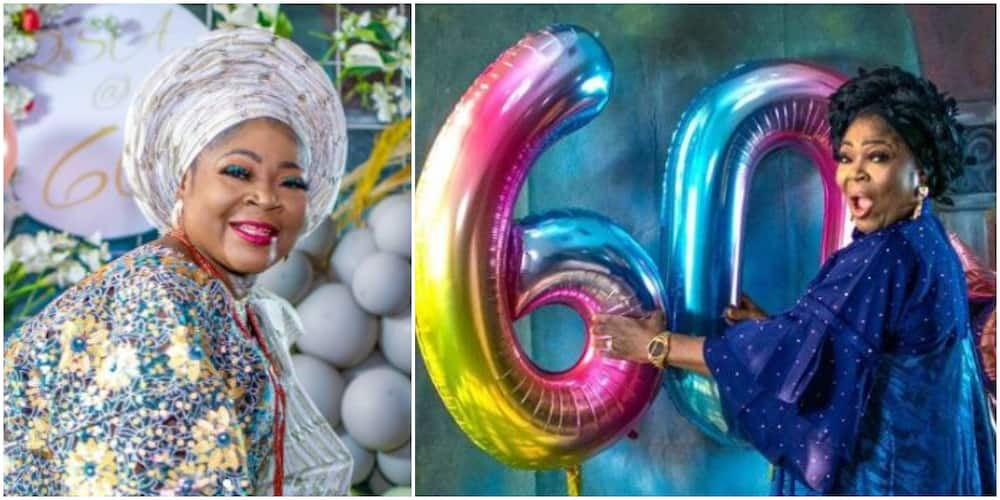 Fine Wine: Queen of Waka Music Salawa Abeni Clocks 60 in Style, Shares Sultry Photos