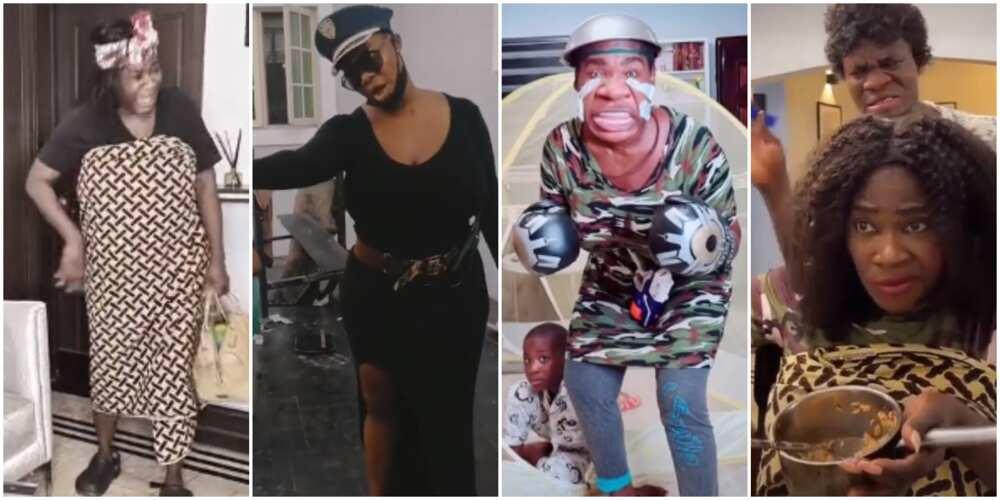 New queen? 8 hilarious TikTok videos of actress Mercy Johnson-Okojie and her kids