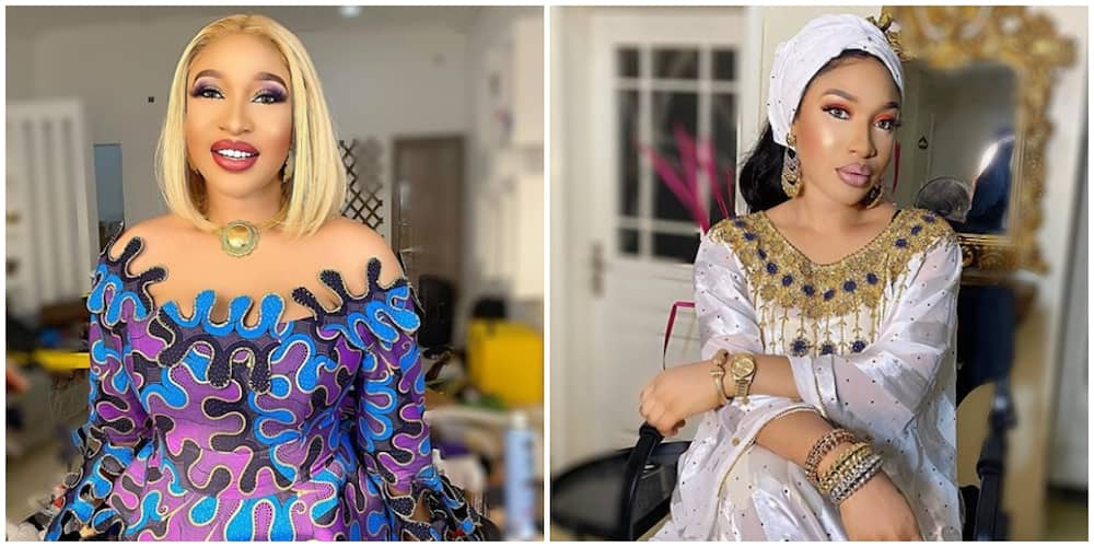 Tonto Dikeh preaches about failing and its importance in becoming successful
