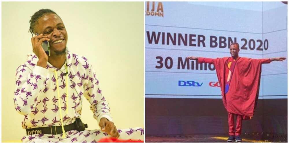 BBNaija: Icons celebrate winner Laycon on his 'winversary'