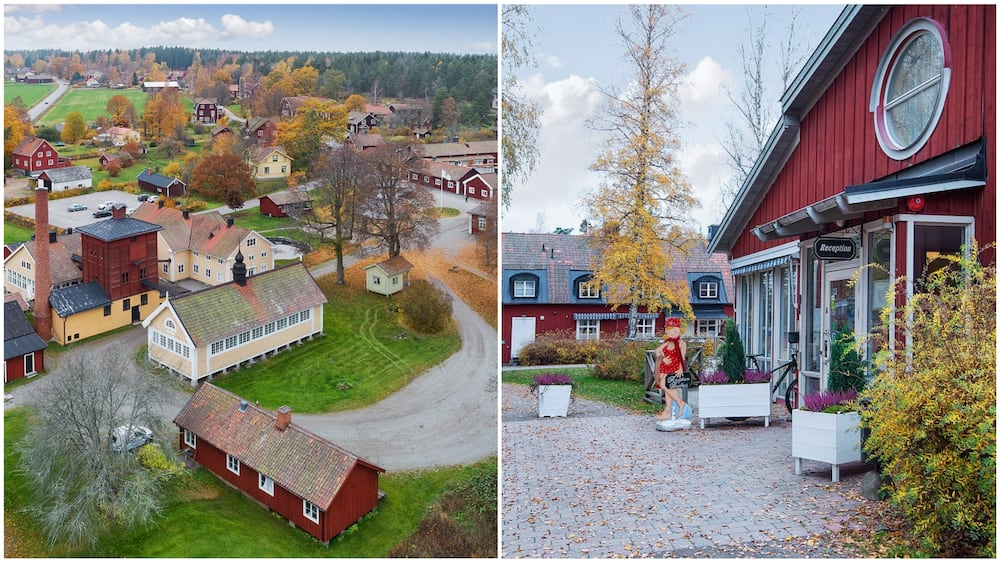 A collage of the village and a closer shot of some of the buildings. Photo source: New York Times