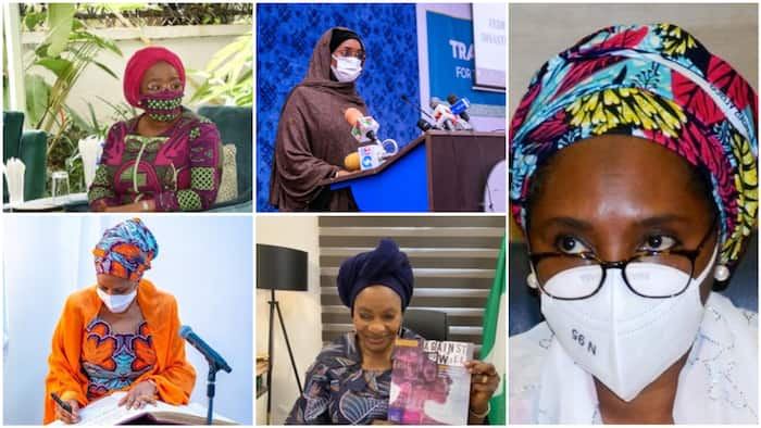 IWD2021: List of 50 women appointed by President Buhari
