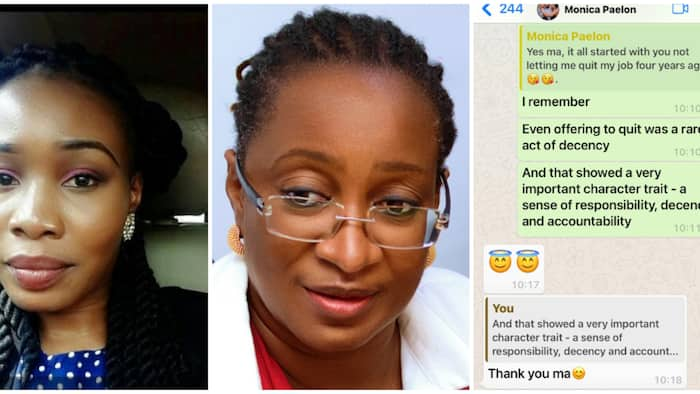 Young Nigerian lady resigns from work after getting married, goes back to same company, social media reacts