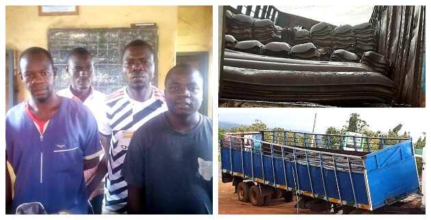 Rail Track Vandalism: Police Arrest 5 Suspects in Kaduna, Video, Photos Emerge