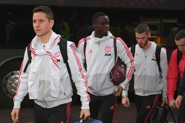 Manchester United stars fly to United Arab Emirates after beating Reading