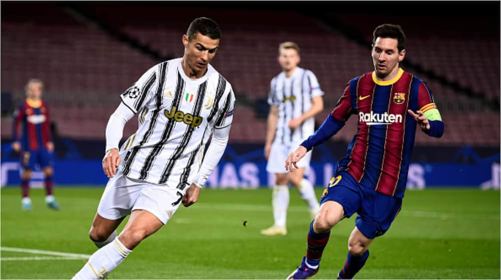 Lionel Messi upset after Barcelona lost to Juventus and Cristiano Ronaldo in Champions League