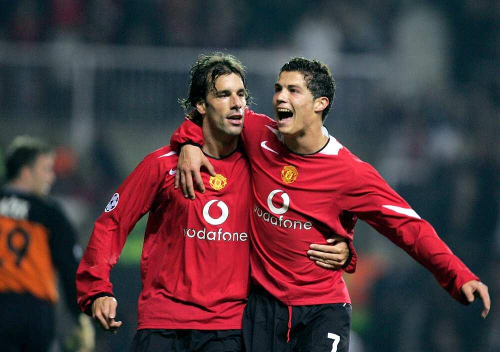 Cristiano Ronaldo and Ruud