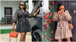 Vibe killers stay away: Mercy Aigbe joins challenge as she dances to Ayra Starr's Bloody Samaritan
