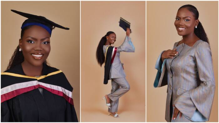 Lady graduates with second class with 4.49 CGPA, she was close to first class as 0.01 kept her away