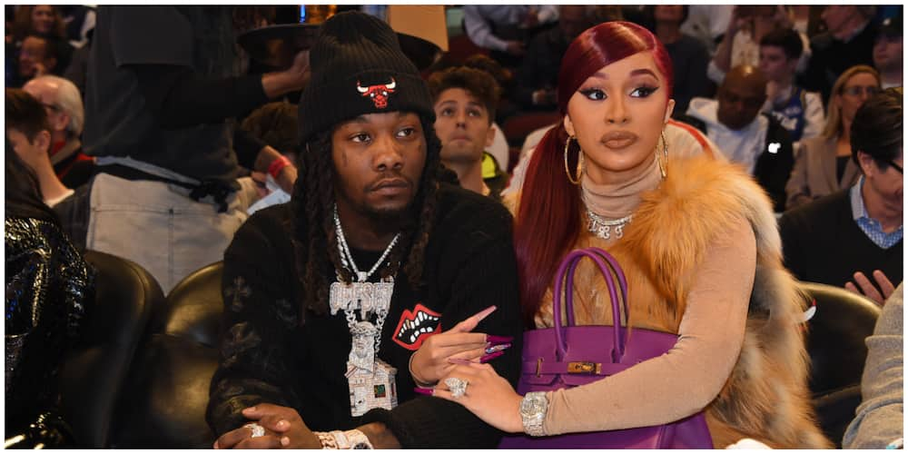 Hysterical Cardi B screams at cops to release 'unarmed' husband Offset