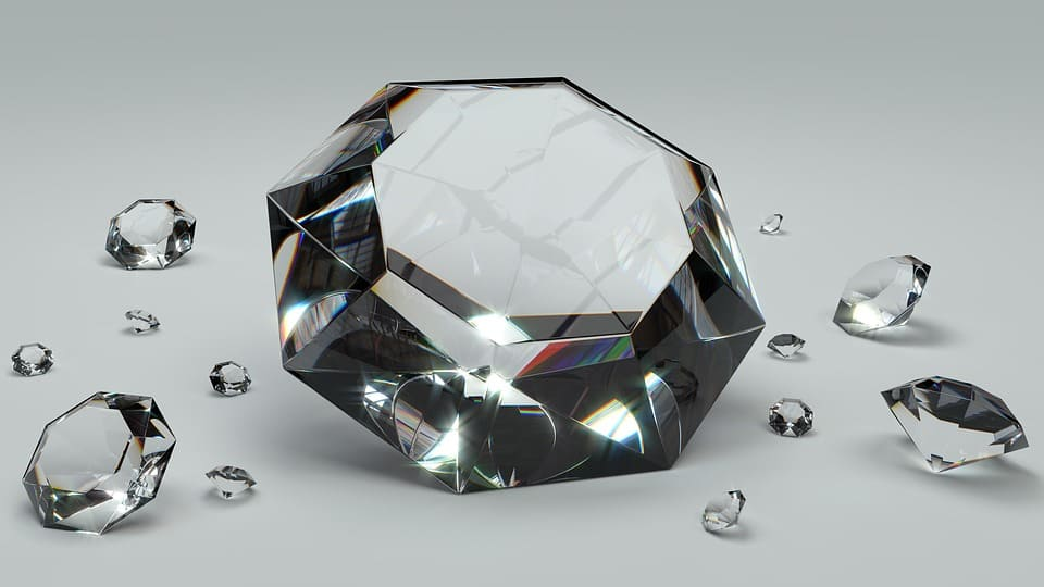 how to tell if a mounted diamond is real