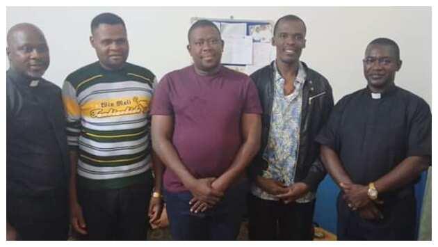 Freed seminarians