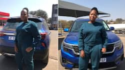 24-year-old lady buys her first car and house, inspires people with her success