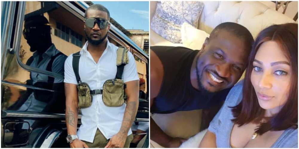 Lola Okoye celebrates her husband Peter as he clocks a year older