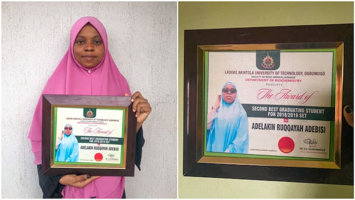 I wanted to study medicine - Young lady breaks 19-year-old jinx in LAUTECH, bags 1st class