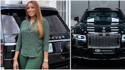 Too much for a single woman? Linda Ikeji contemplates selling her Bentley to buy Rolls Royce worth millions