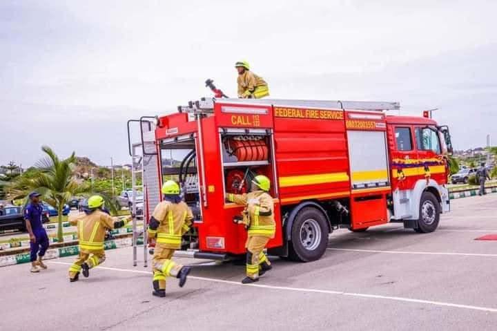 FG Say Officials of Fire Service May Start Carrying Guns