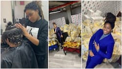 This was how I became a millionaire at 20 after working as a hairdresser - Pretty lady reveals (photos)