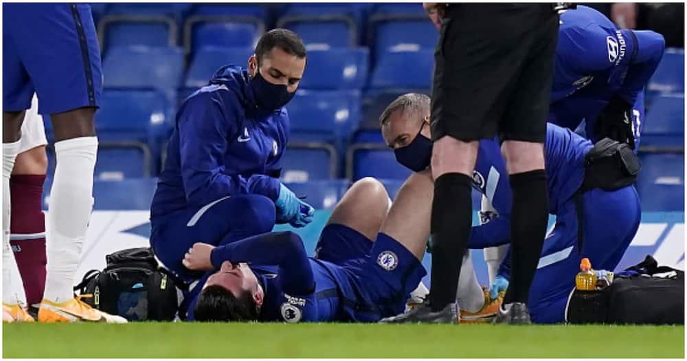 Ben Chilwell: Chelsea defender doubt for Arsenal clash after ankle injury vs West Ham