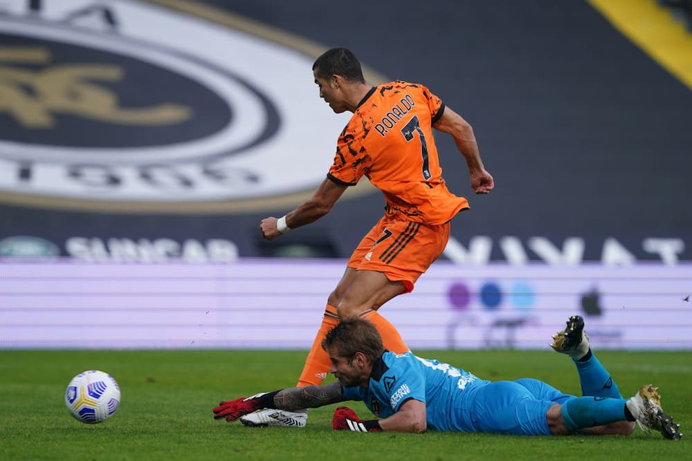 Cristiano Ronaldo dodged questions on COVID-19 after Brace in Juve's win over Spezia