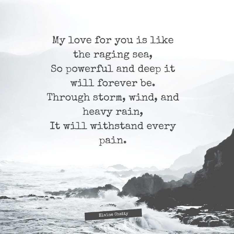 Poems really deep love Really Good
