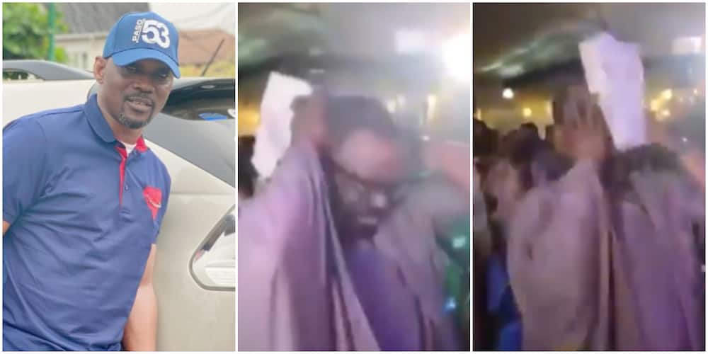 Fuji Maestro Pasuma becomes emotional, breaks down in tears at daughter's wedding ceremony