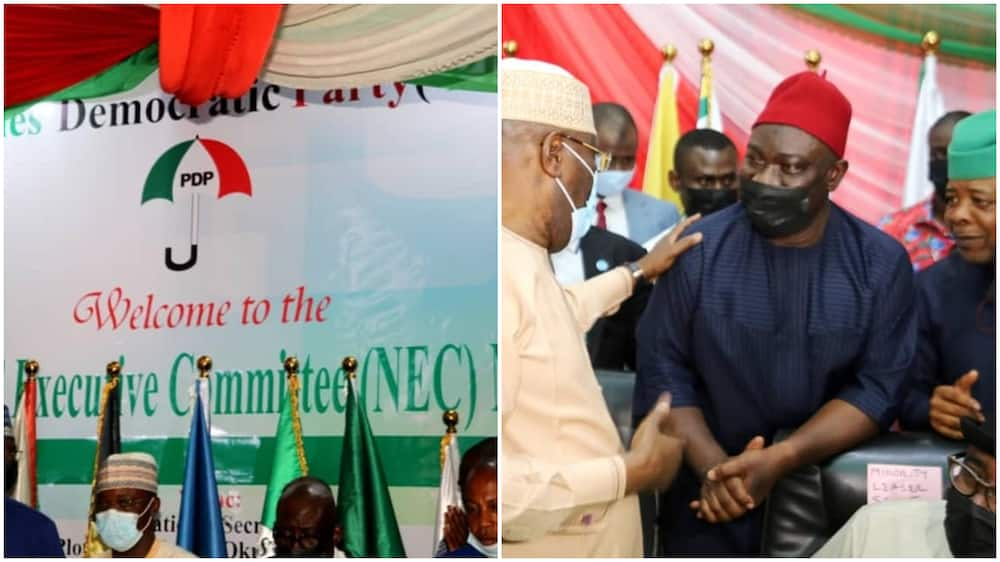 North or South? PDP Shifts Decision on Zoning of Presidential Ticket
