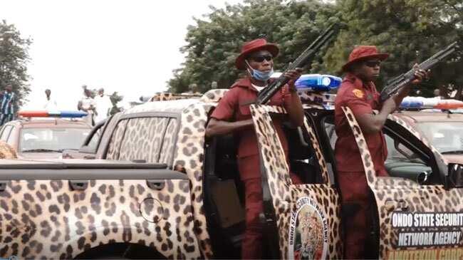ENDSARS: Amotekun hands over suspected looters to police in Ondo