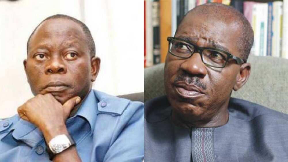 Zaben Edo: Obaseki ya ya alwashin gasa wa Oshiomhole aya a hannu