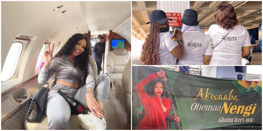 Royal-like preparation in Ghana as BBNaija's Nengi embarks on trip to meet fans