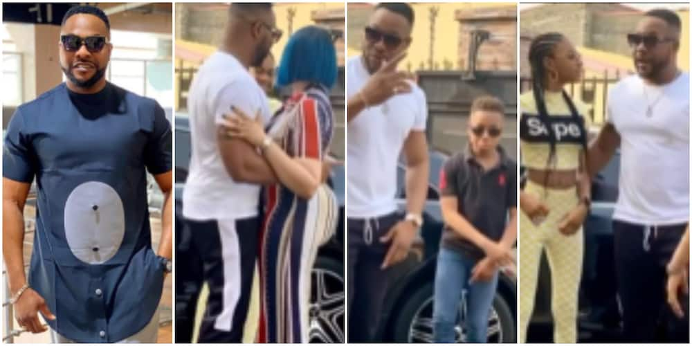 Actor Bolanle Ninalowo shares adorable video with his wife and kids