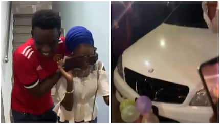 100 level student buys 16-year-old girlfriend brand new Mercedez Benz, iPhone XMax worth N423k in Abuja