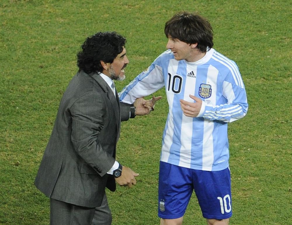 Messi dedicates trophy to Maradona and Argentines fighting COVID