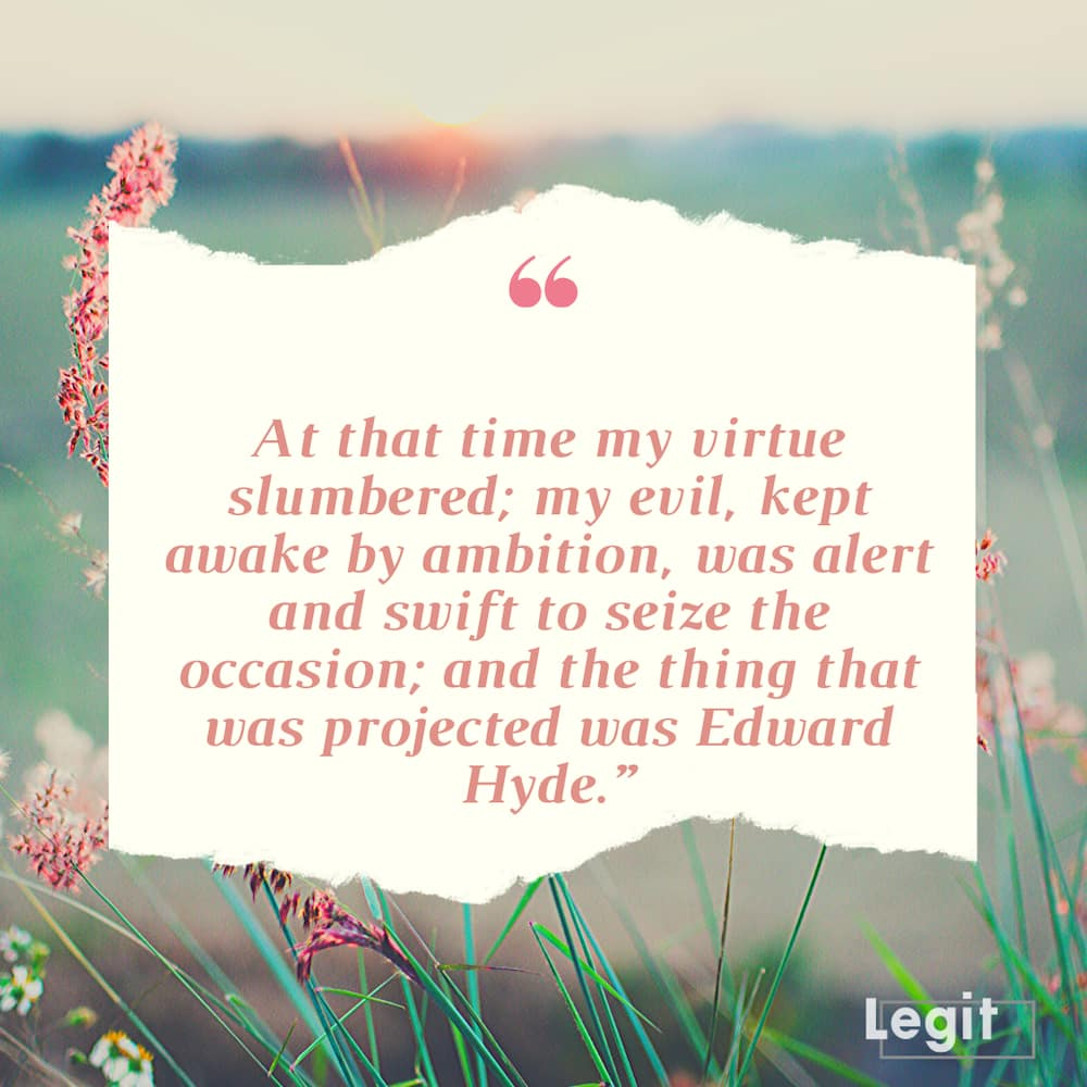 Jekyll and Hyde key quotes