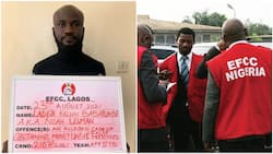 Man who impersonated EFCC to defraud yahoo boys of N38m caught, he was using money to build 4-bedroom house