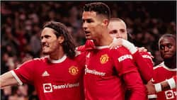 Ronaldo involved in halftime spat with Man United teammates while going 2goals behind against Atalanta in UCL
