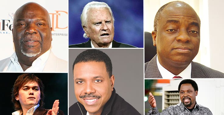 Top 10 Richest Pastor in The World ▷ Legit ng