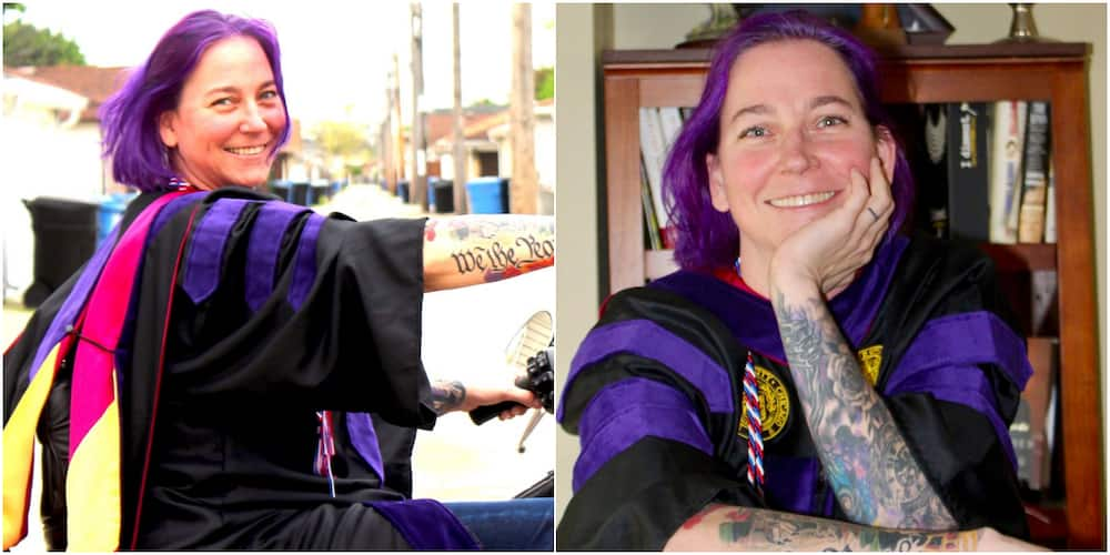 Woman who Dropped out of Higher Institution & Became a Mechanic Graduates from Law School, Lists Achievements