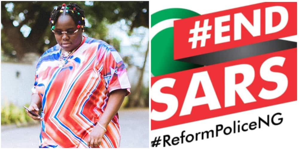 My father was assassinated! Singer Teni makes sad revelation as she lends voice to EndSARS campaign