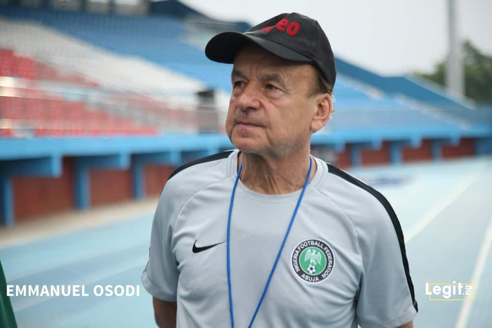 Super Eagles boss Gernot Rohr downplays defeat to Cameroon