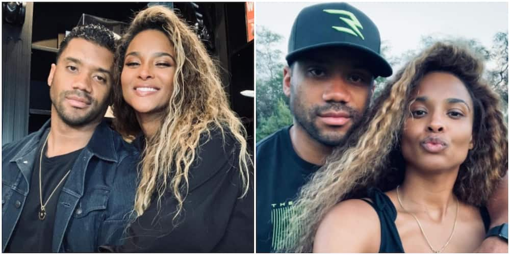 Ciara and Russell Wilson reminisce about their first date in cute couples' quiz