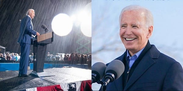 US election: Rain or shine I'll fight for you, Biden to Americans