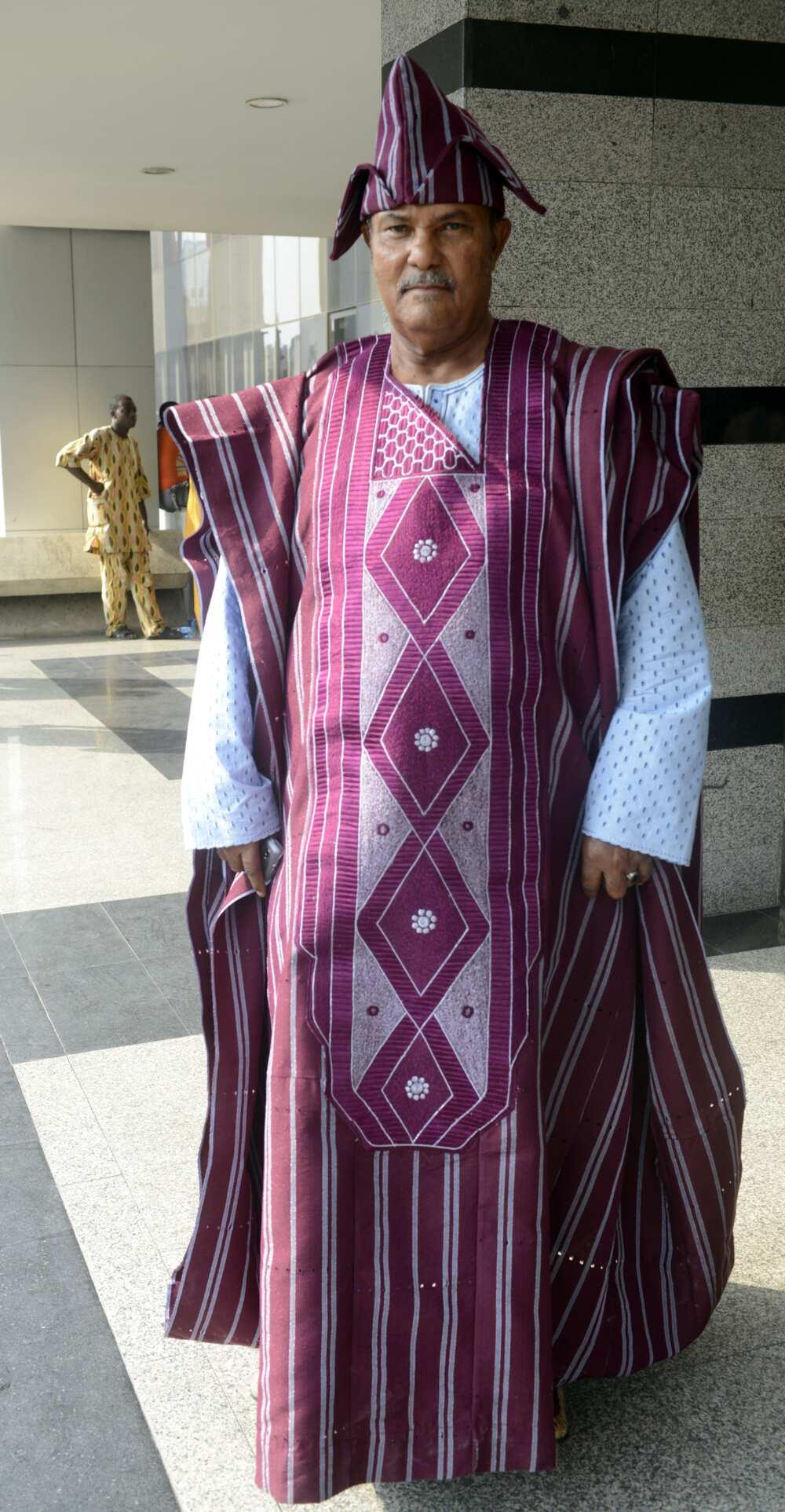 Nigeria native wears