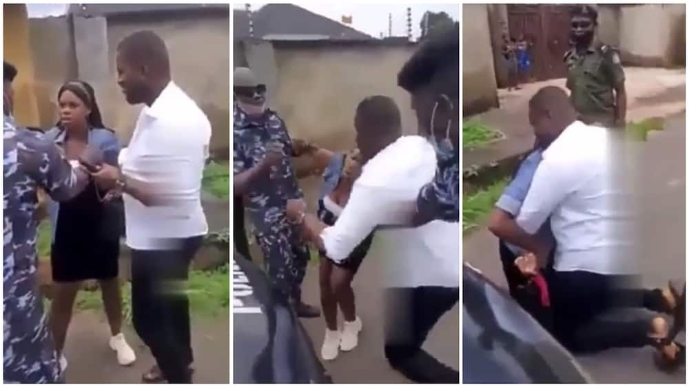 Man uses SARS officers to stage fake arrest so he can propose to his girlfriend