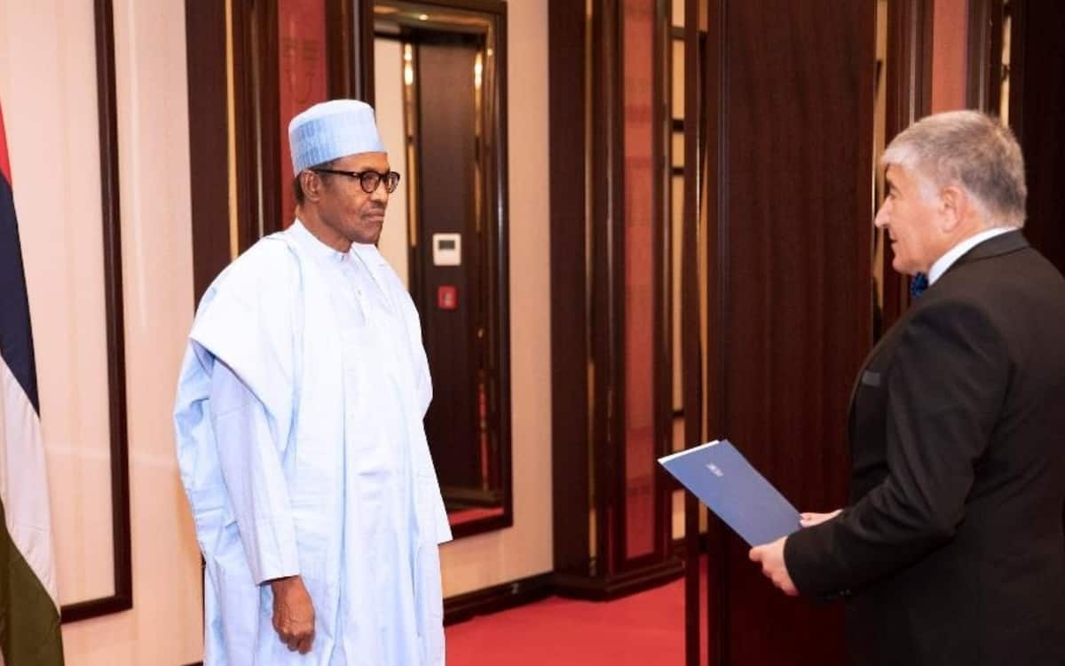 Go around my country and see the beauty of it - Buhari tells Ben-Shosan